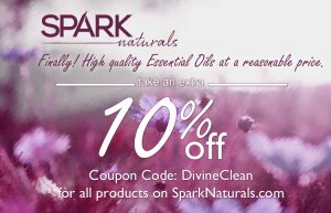 Take an extra 10% off using the coupon code DivineClean.